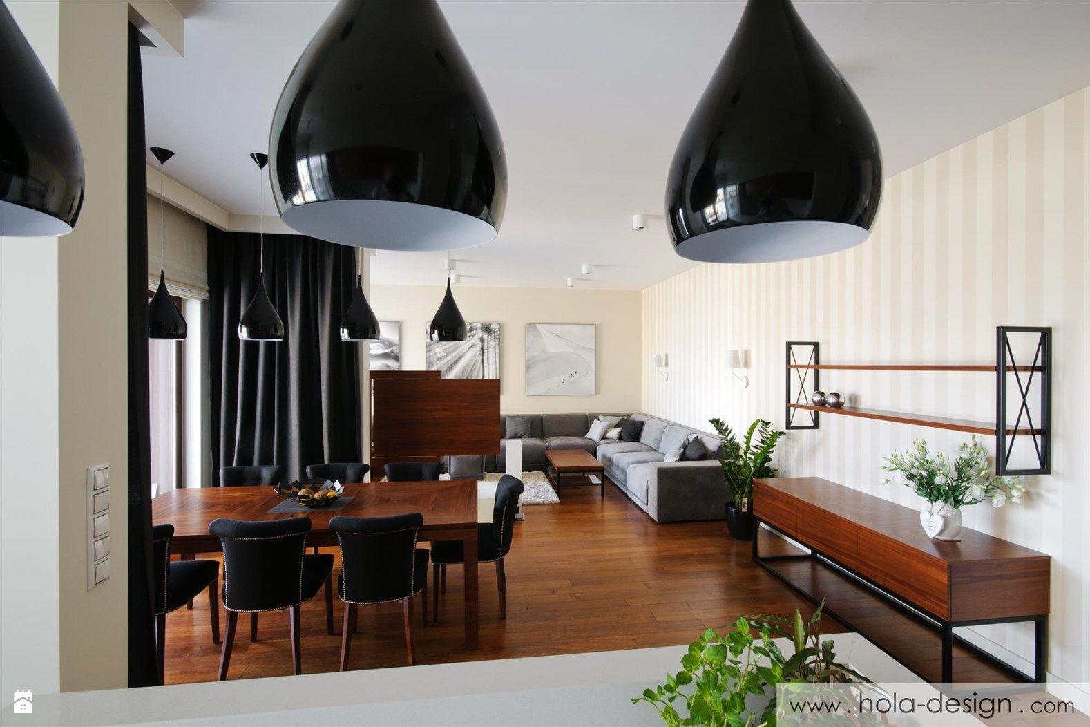 Otwarta kuchnia w bieli hola design homesquare - Salon Styl Klasyczny Zdj Cie Od Hola Design Salon Styl Klasyczny Hola Design