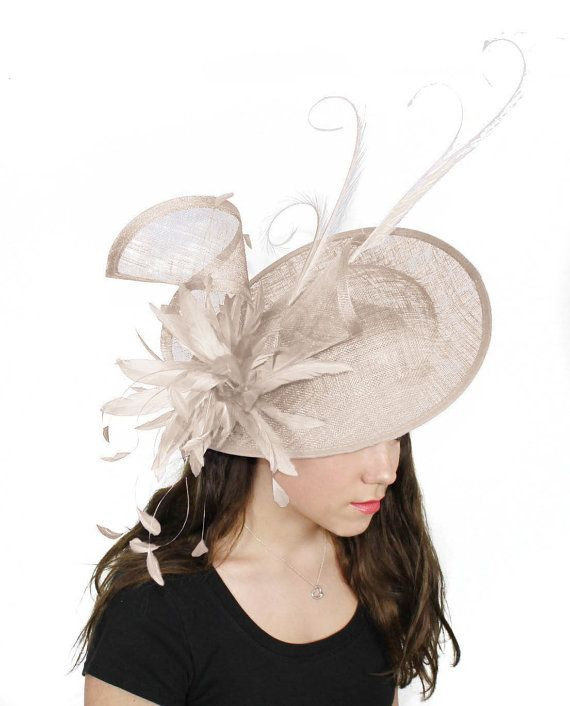 Adonis Cream Fascinator Hat For Weddings Races By Hatsbycressida 220 00
