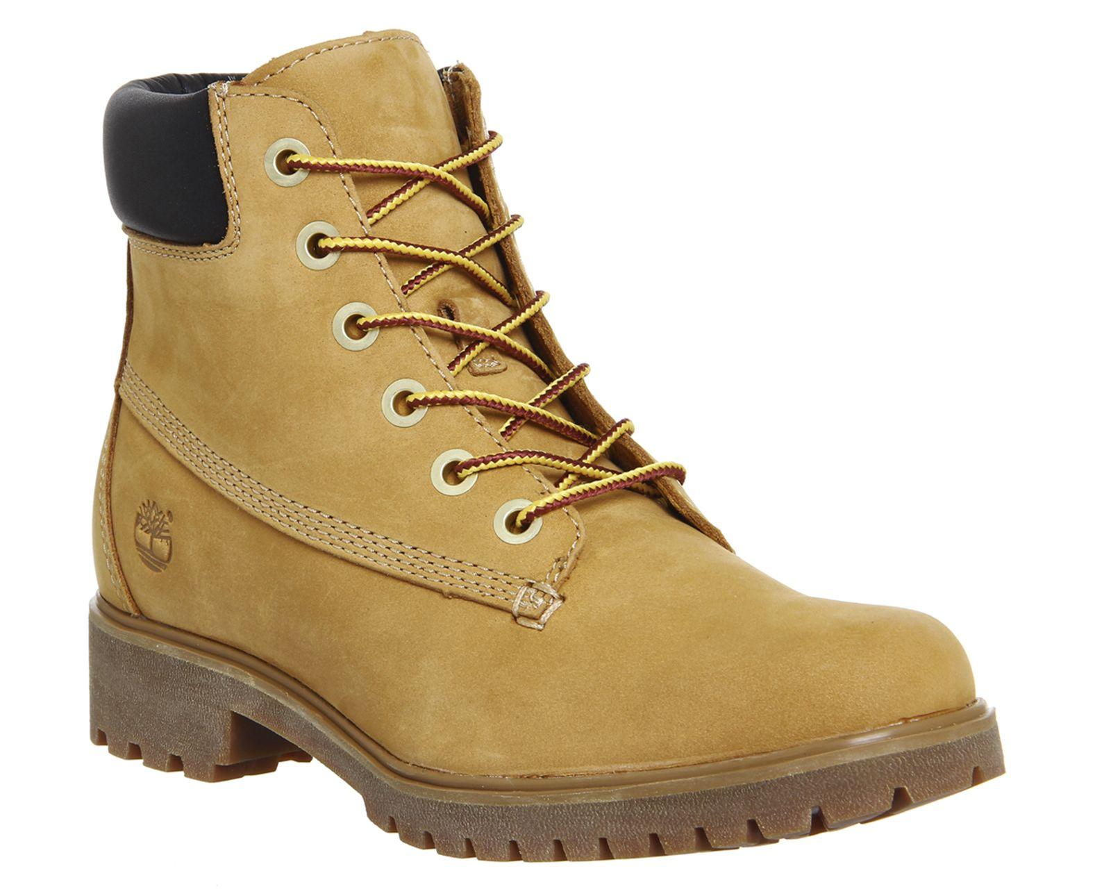 Buy Wheat Nubuck Timberland Slim 6inch Premium Boots from OFFICE.co.uk.