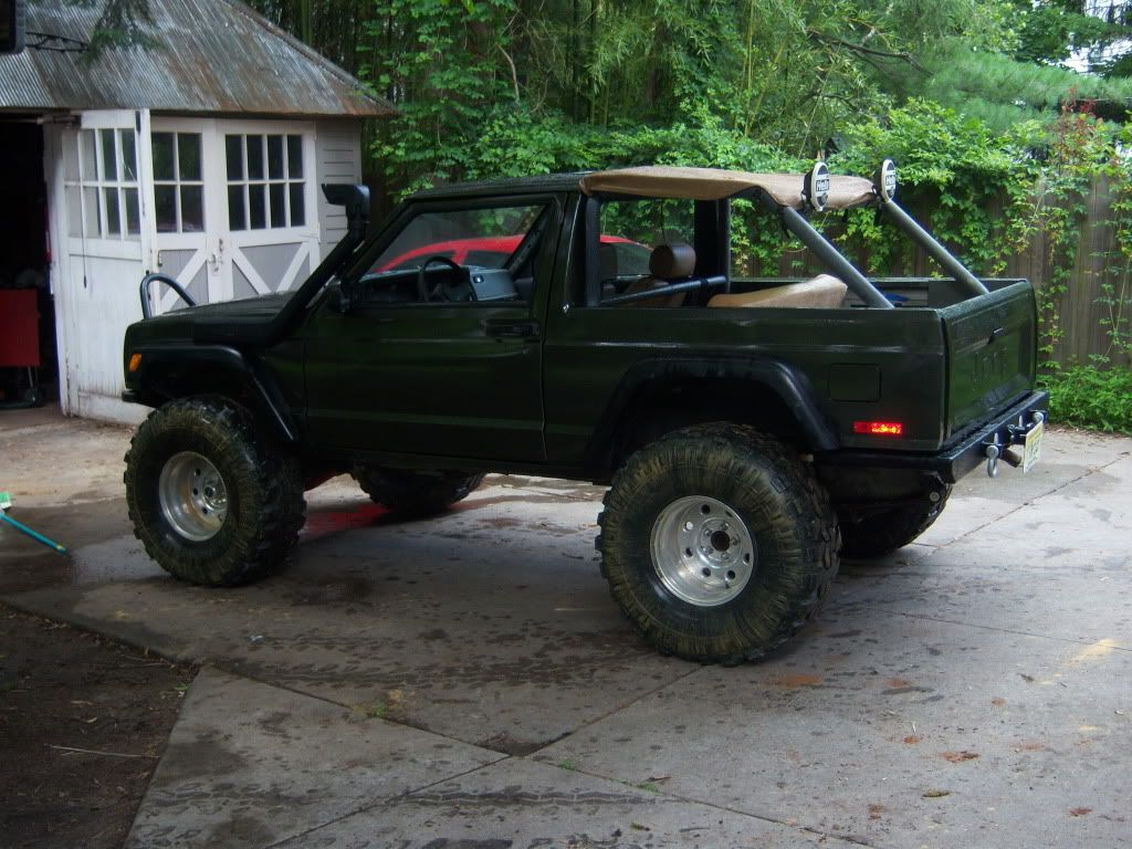 hight resolution of chopped 2 door xj