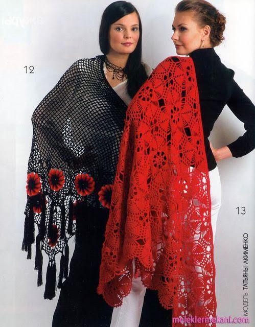 ergahandmade: Crochet Shawl - Inspiration