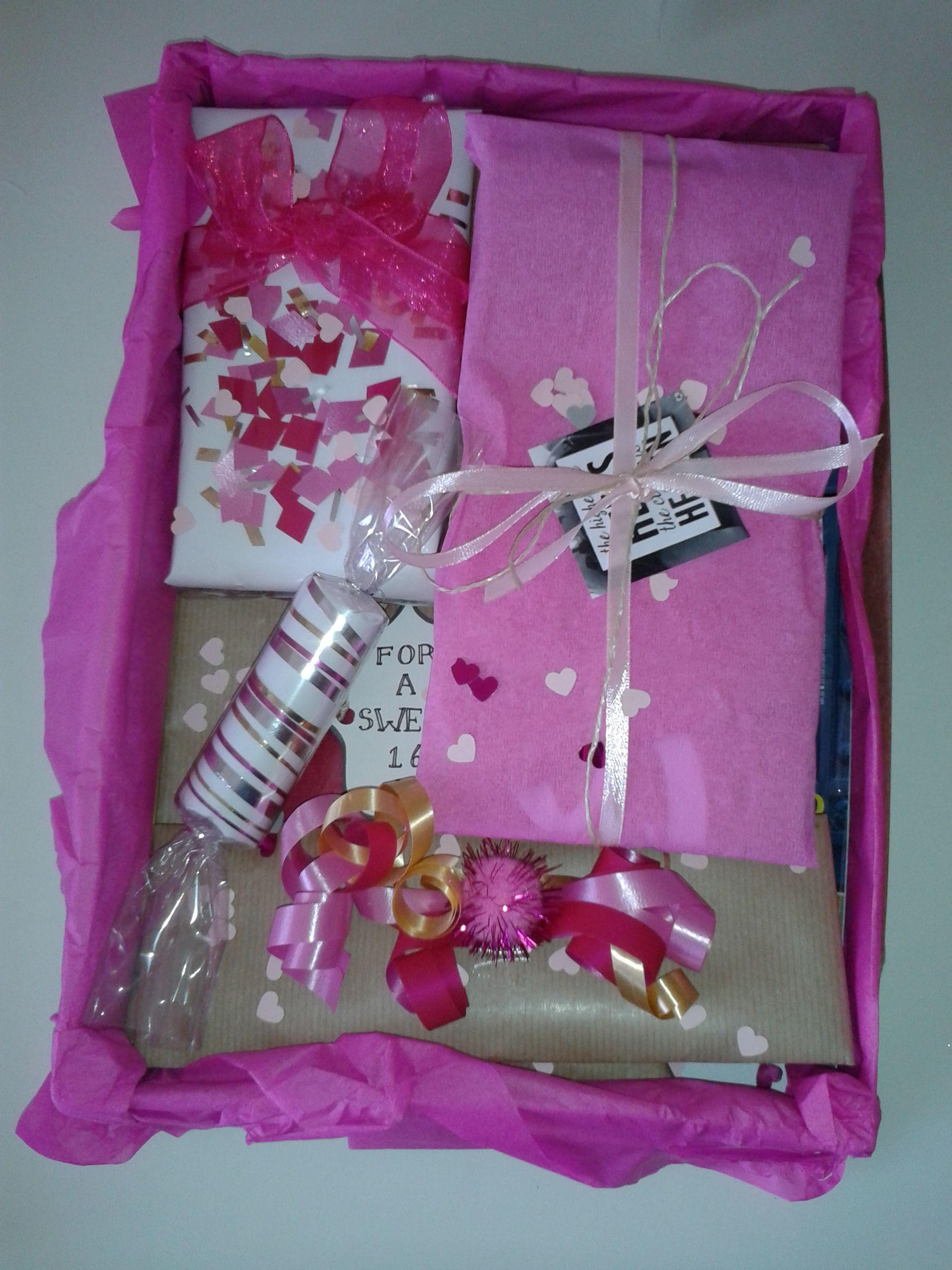 Diy sweet sixteen gift