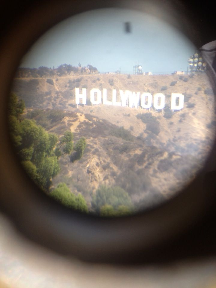 """Hollywood. It's where the """"rich and fmous live"""". Maybe I could spot a few celebrities. LOL, We don't get many in PE."""