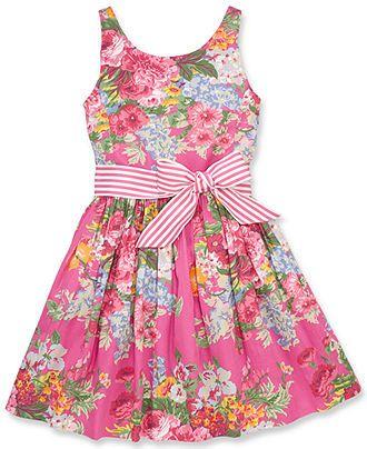Polo Ralph Lauren Girls  Sateen Dress - Kids Girls Dresses - Macy s ... b3b1f2e0a599