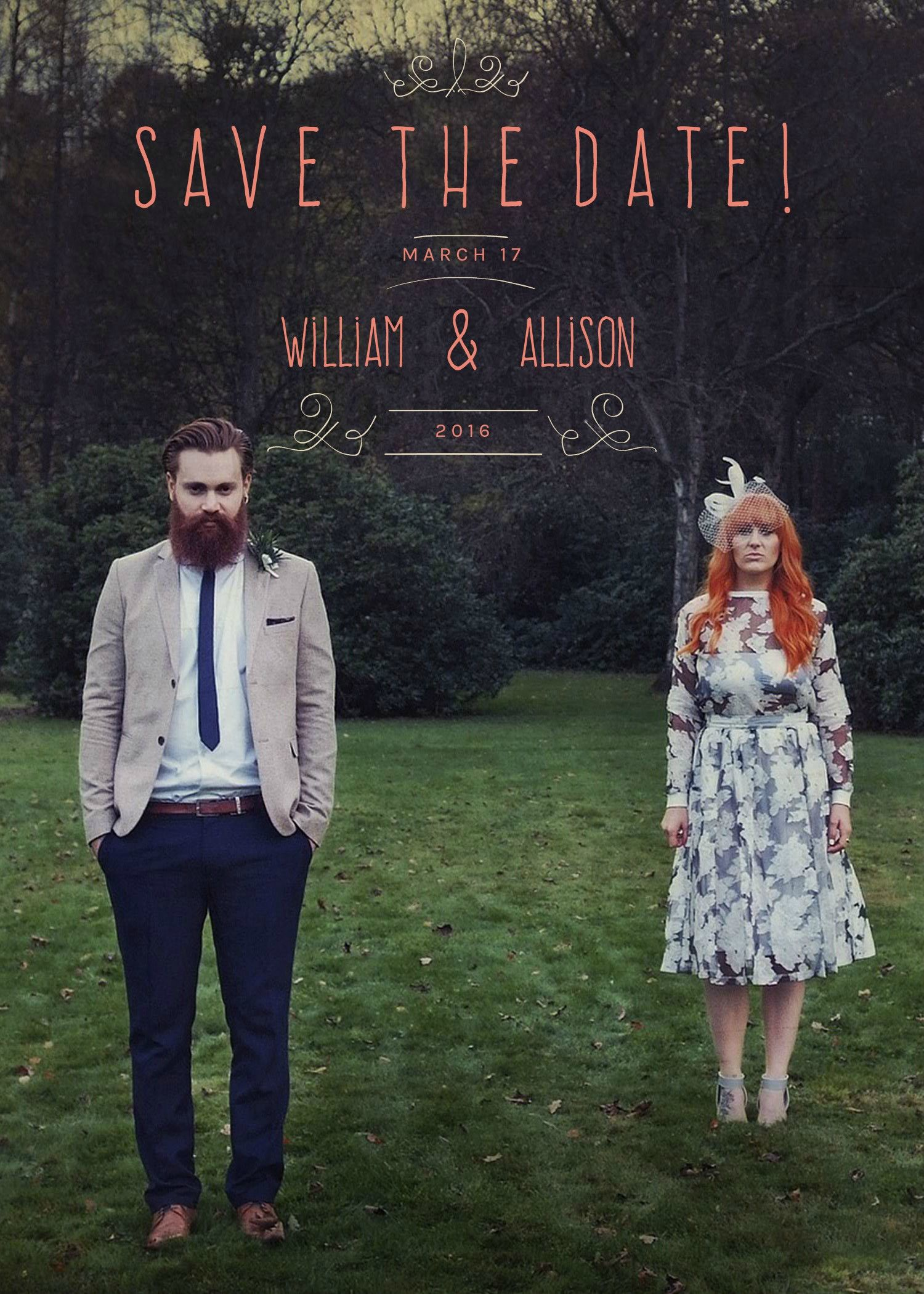 Design Your Own Save The Dates In Minutes With BeFunkys Design - Design your own save the date template