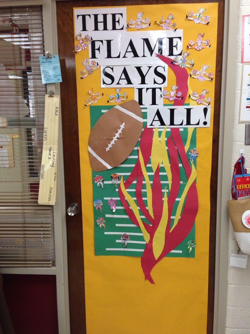 Homecoming week classroom doors pinterest homecoming week and