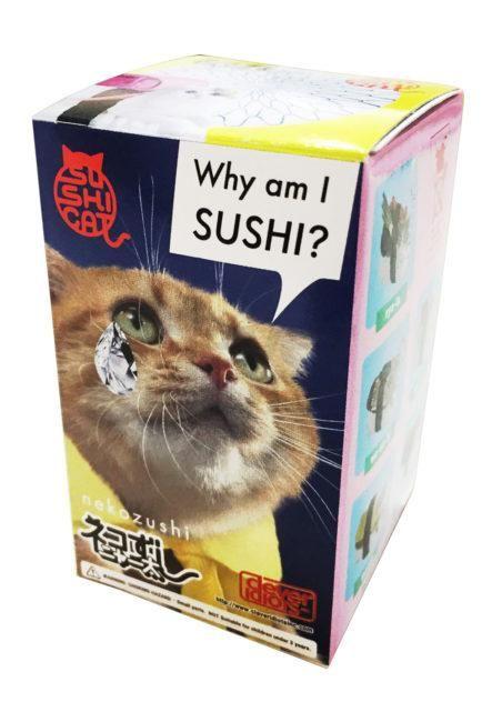 Sushi Cat Nekozushi Keyring Version 1 - Blind Box