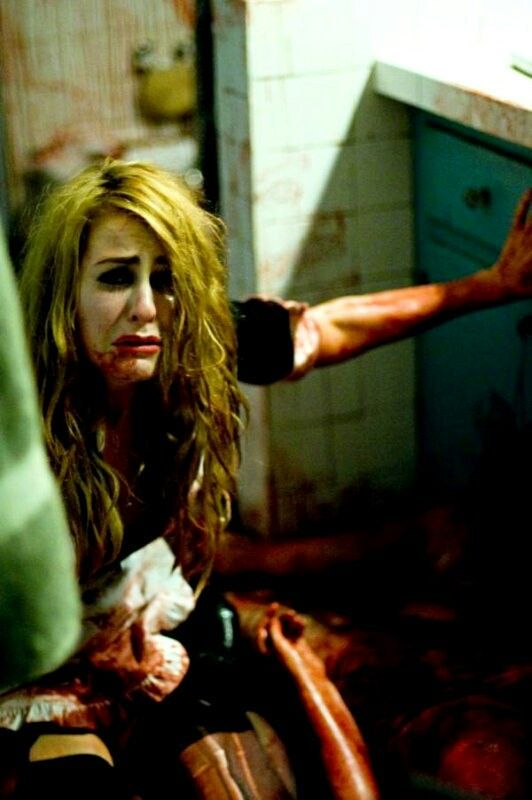 Scout Taylor Compton as Laurie Strodes, dressed as Magenta ...