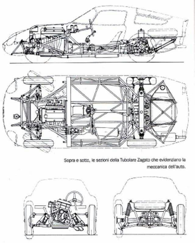 alfa romeo tz the chassis project the final result the genius of the coach and the elegance of