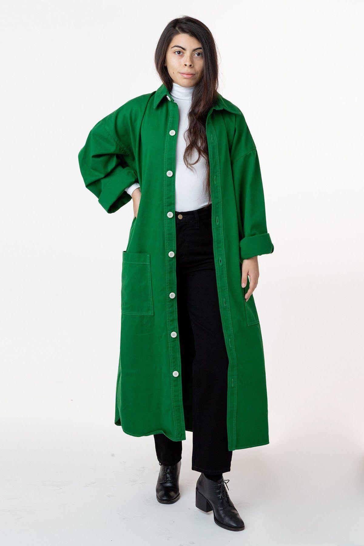 Rct305 The Lab Coat Coat Oversized Shirt Dress Lab Coat