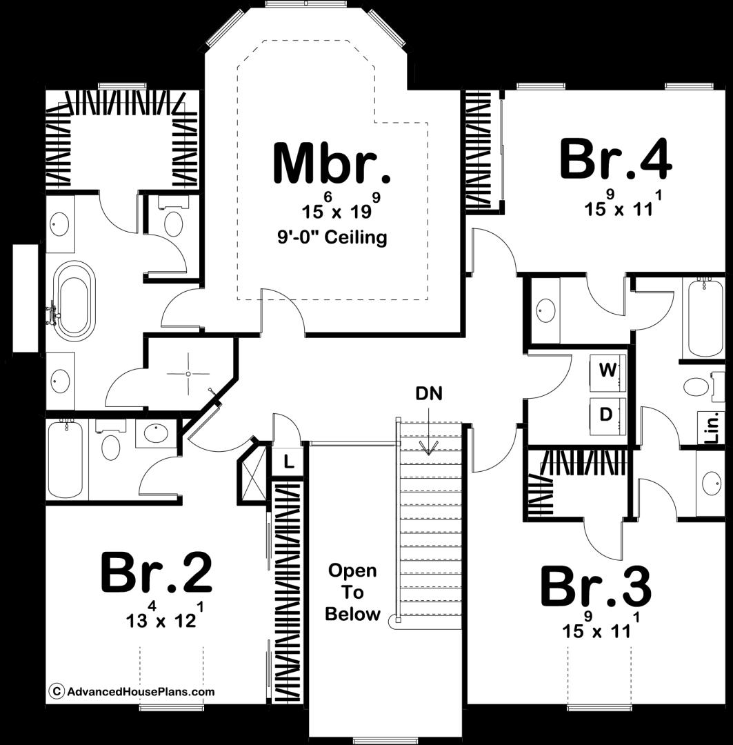 2 Story Victorian Style House Plan Henrietta in 2020