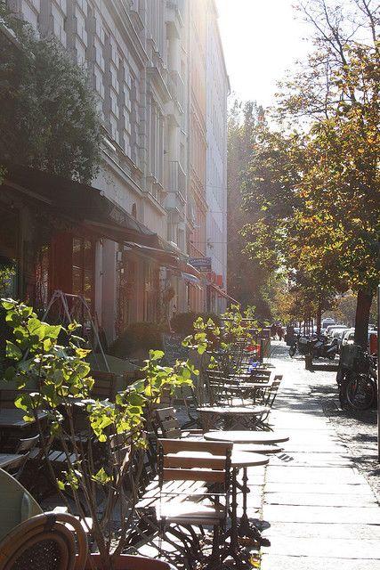 #Kastanienallee, Prenzlauer Berg, famous street with lots of nice shops cafés #Berlin