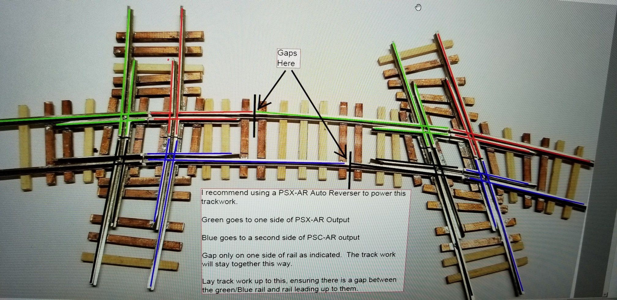 Dcc Crossing Diamond Wiring Diagram Oak Hill Model Railroad Track Supply Jeff Ohrtracksupply Com