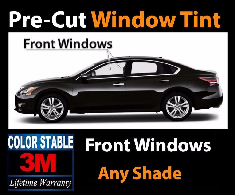 Front Windows 3m Color Stable Audi Precut Window Tint Kit Any