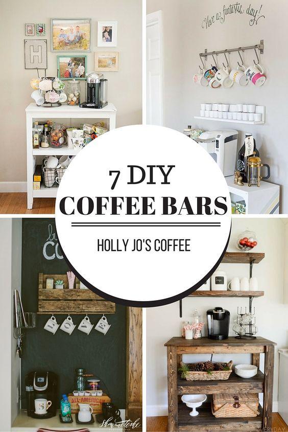 7 Cute Diy Coffee Bars Bar Drinks Coffee And Bar