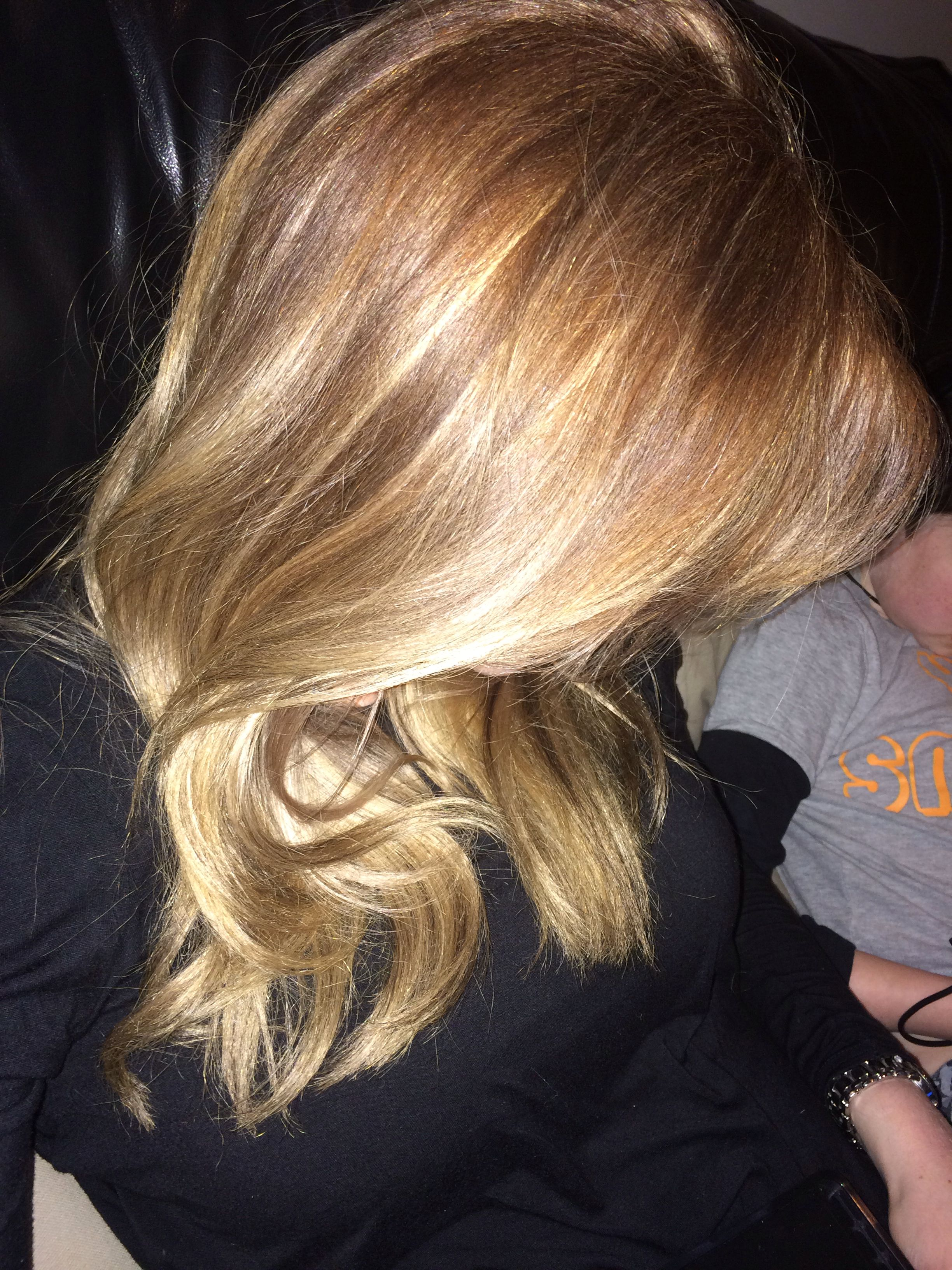 Loreal Inoa Hair Colour From Blonde To Copper Hair Pinterest