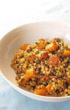 Fregola Sarda with Caramelized Squash and Charmoula Recipe on Food52