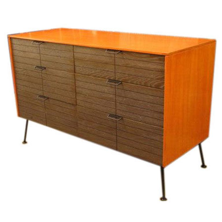 Dresser / Chest Of Drawers By Raymond Loewy For Mengel | 1stdibs.com