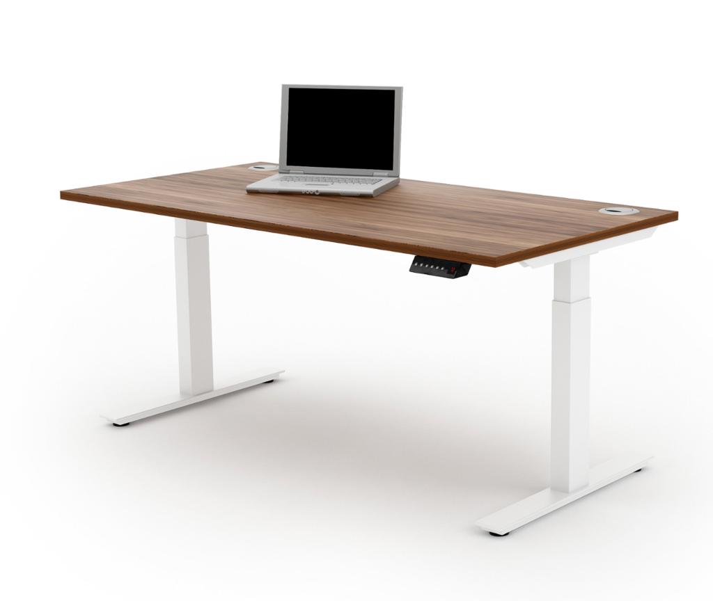 Liberty Electric Desk In 2020 Sit Stand Desk Desk Adjustable Desk