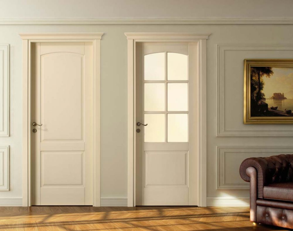 Porte Interne Shabby Chic vetri decorati per porte interne classiche