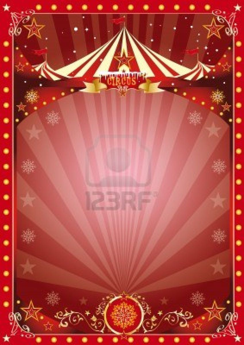 circus flyer background - photo #40