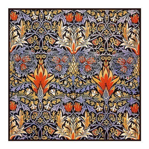 Snakeshead in Earthtones by Arts and Crafts Movement Founder William Morris Counted Cross Stitch Chart Price : $9.99 http://www.orencooriginals.net/Snakeshead-Earthtones-Movement-Founder-William/dp/B0080JDVDQ