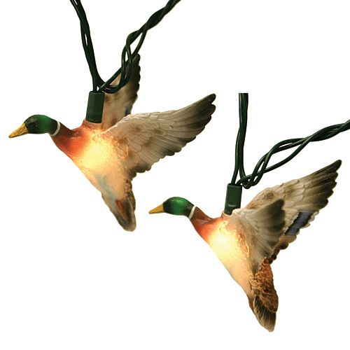 Ducks Unlimited Home Decor: Mallard Duck Party Lights, Order Online From PartyLights