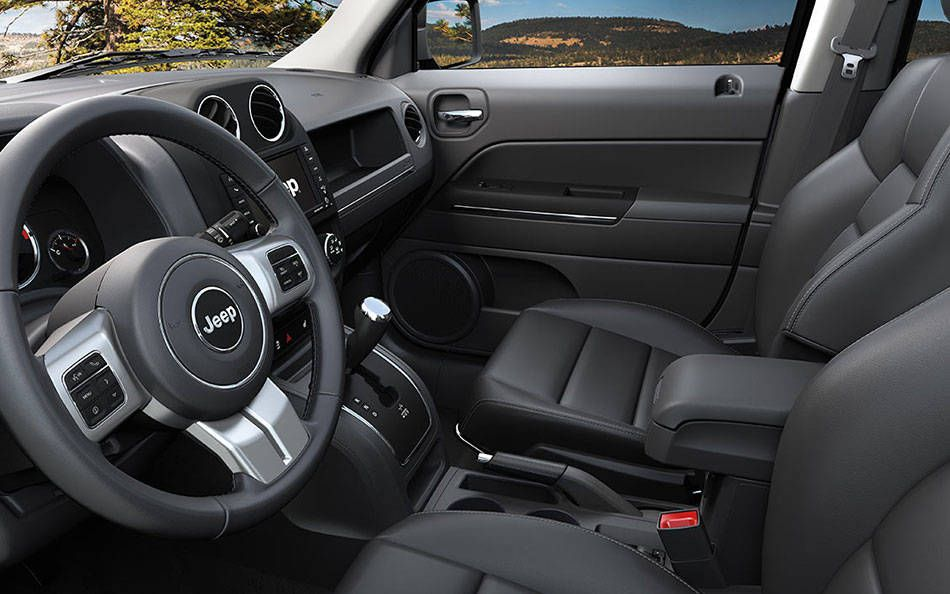 Check Out The Interior On The New 2015 Jeep Patriot Loaded With