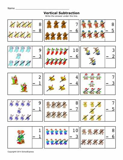 Free Math Worksheets Subtraction Differences 010 Vertical – Vertical Subtraction Worksheet