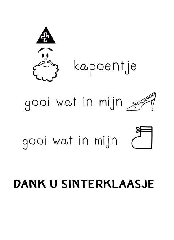 Zeer Sinterklaas van free print van eigenwijsprintjuh (facebook) | Sint &EX11