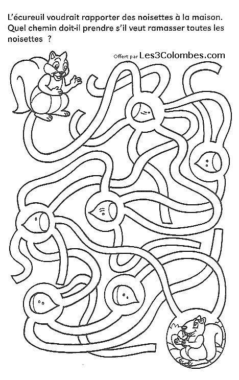 labyrinthe gratuit 02   Coloriage enfant, Coloriage en ligne gratuit et Labyrinthe