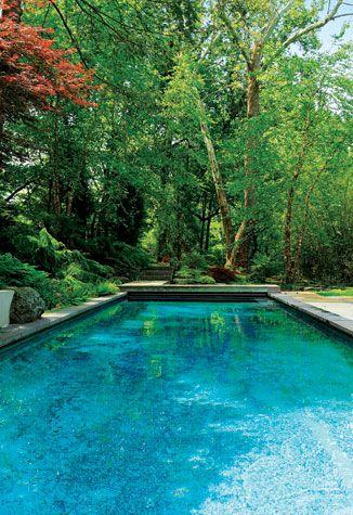 The great outdoors zen sanctuary home pools pool for Zen pool design