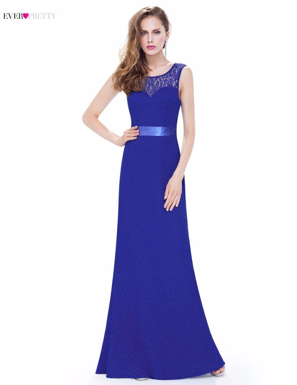 Evening party dress navy blue ever pretty epsb mermaid