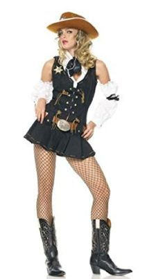 Ladies COWGIRL TIARA HAT Hen Party Line Dancing Holiday Wild West Fancy Dress