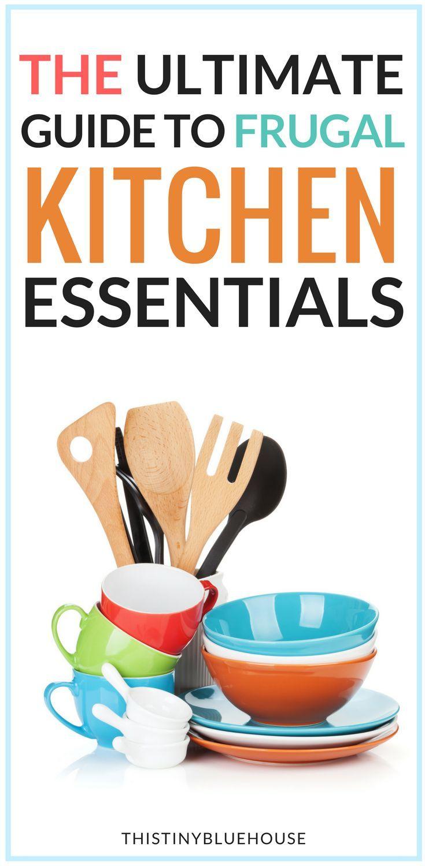 Must Have Kitchen Essentials for Every Frugal Kitchen   Frugal ...