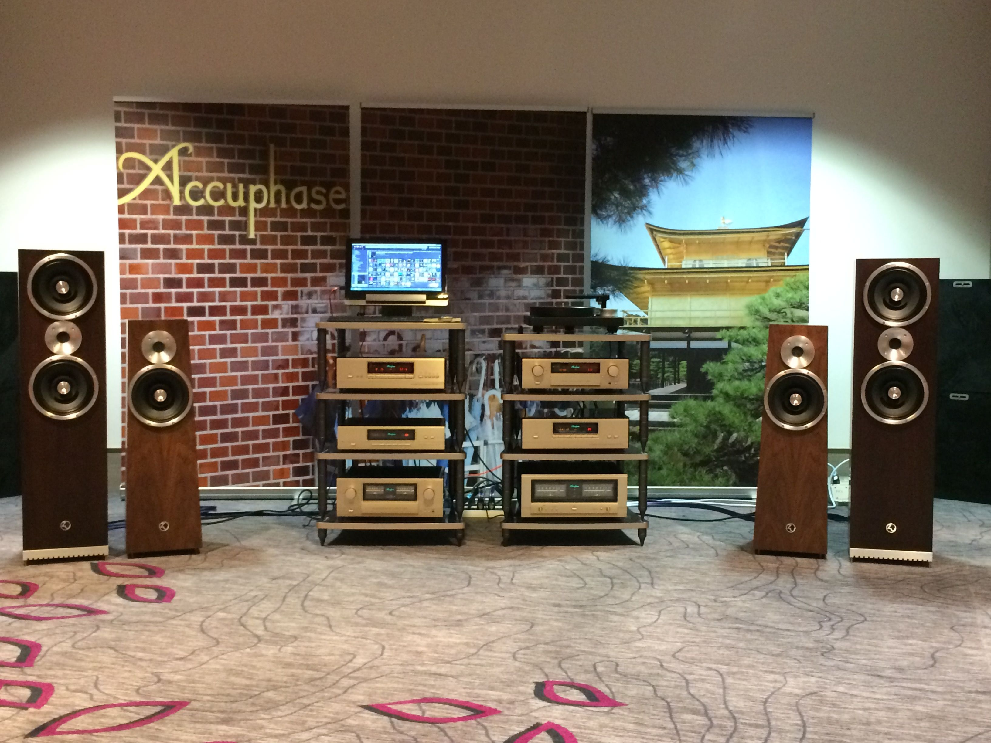 Hifi Darmstadt Incredible Set Up With Accuphase At The Last Haute Fidélité 2016