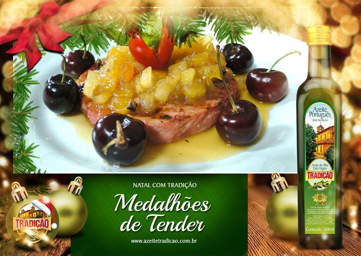 Para conferir todas as nossas receitas especiais para a ceia de Natal acesse: www.azeitetradicao.com.br