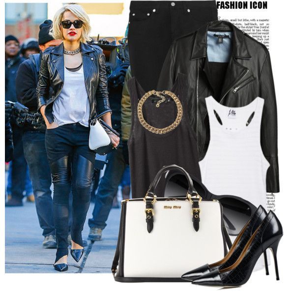 """""""Steal Her Style: Rita Ora"""" by prettyorchid22 on Polyvore"""