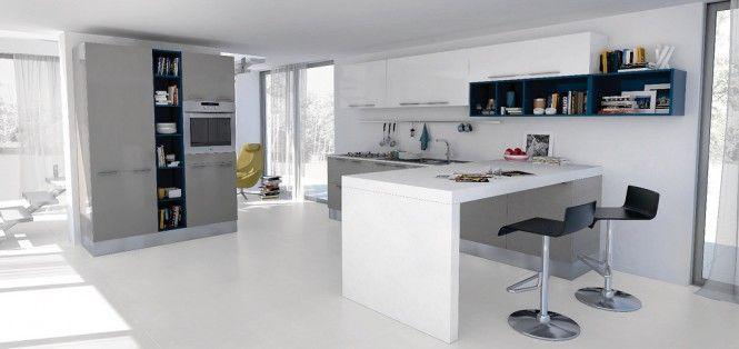 Open, Modern Kitchens