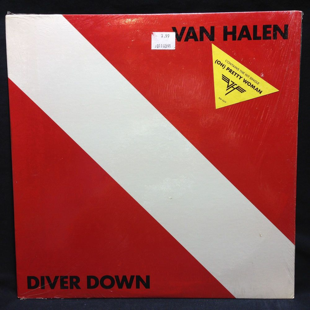 Van Halen Diver Down Sealed Original With Hype Sticker Lp Vinyl Record Vinyl Records Lp Vinyl Vinyl
