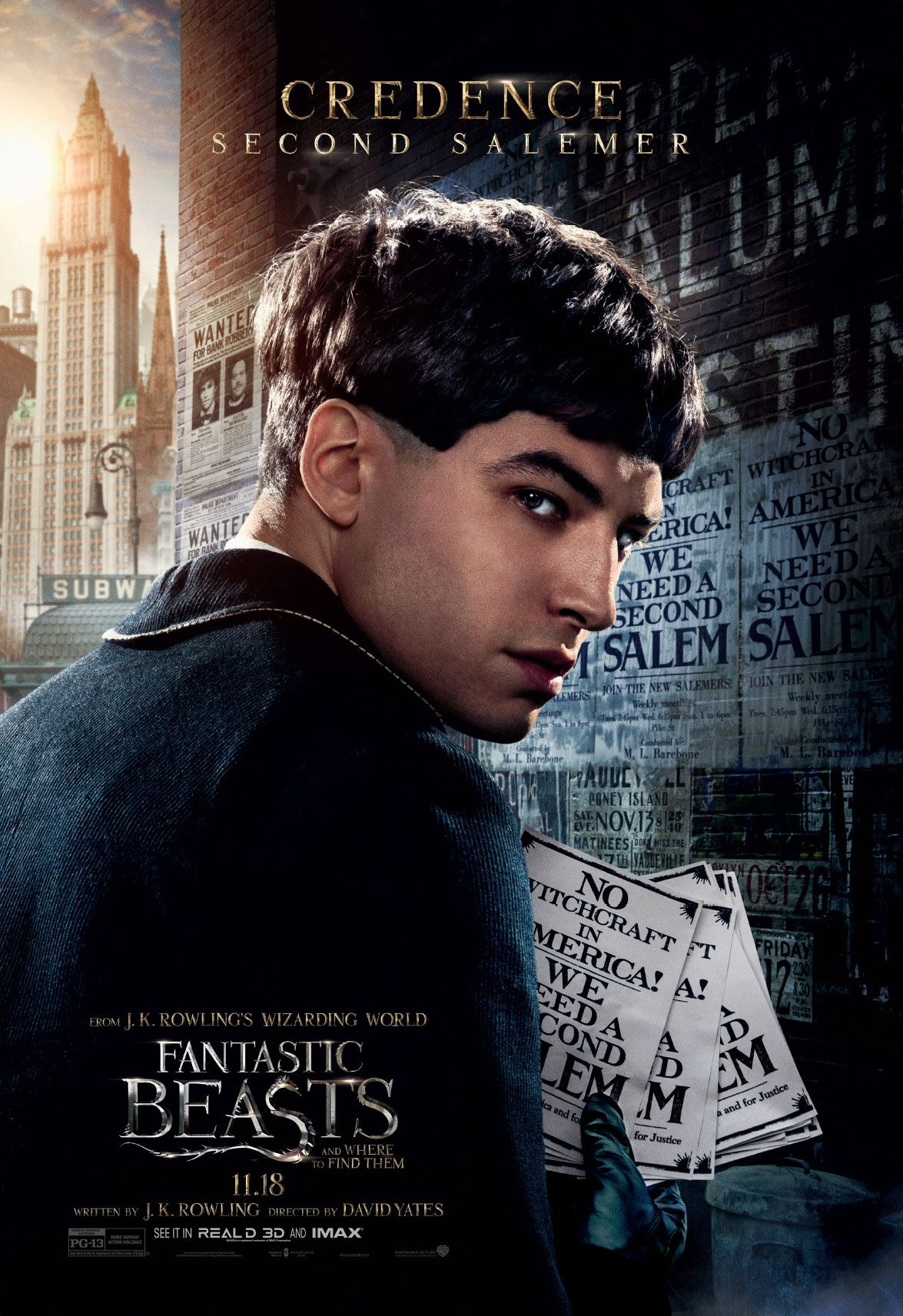 Credence Fantastic Beasts And Where To Find Them Animais