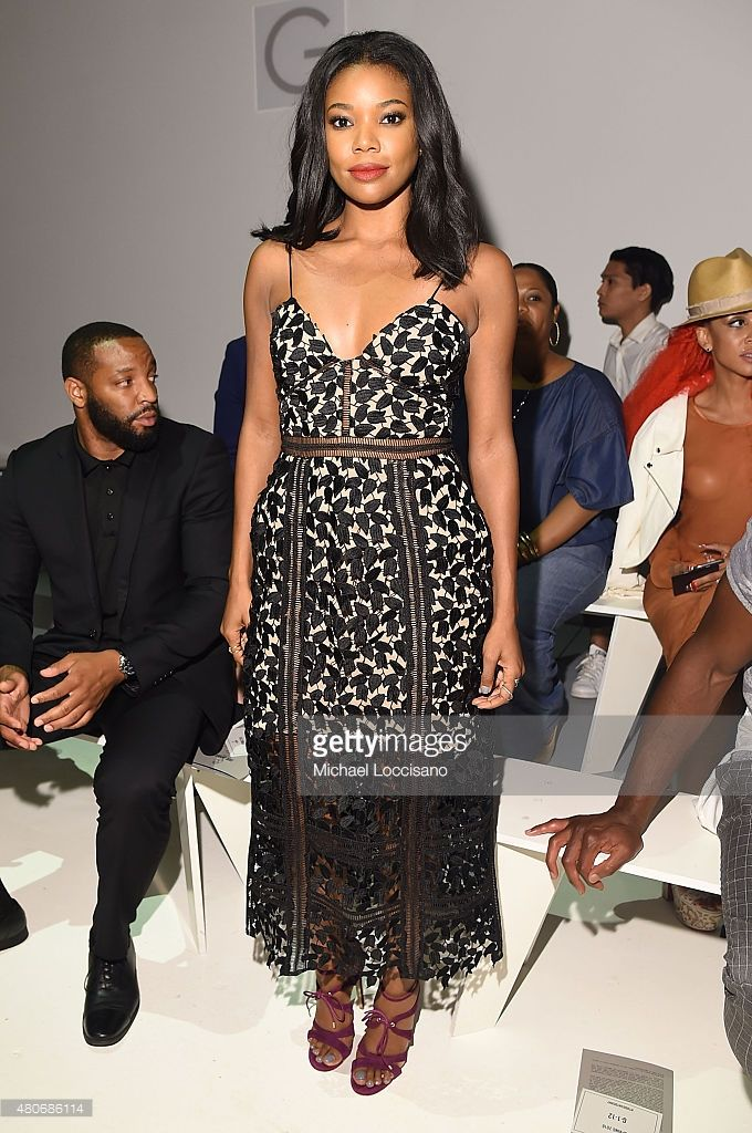 Actress Gabrielle Union attends the Todd Snyder fashion show during New York Fashion Week: Men's S/S 2016 at Skylight Clarkson Sq on July 14, 2015 in New York City.