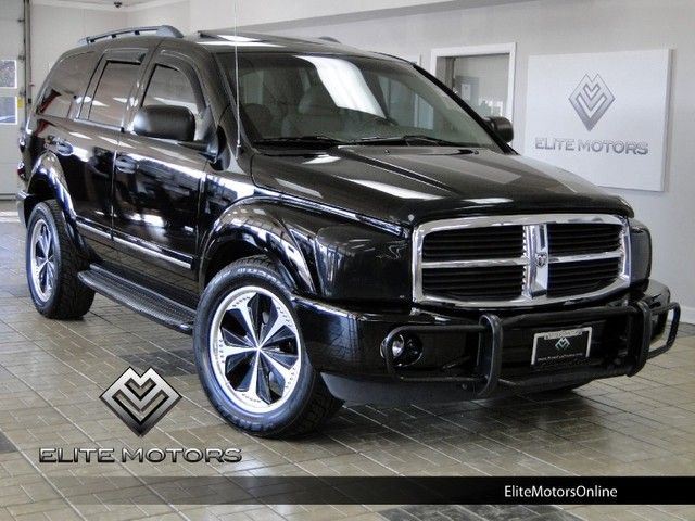 2005 Dodge Durango St >> 2005 Black Dodge Durango 2005 Dodge Durango Limited In
