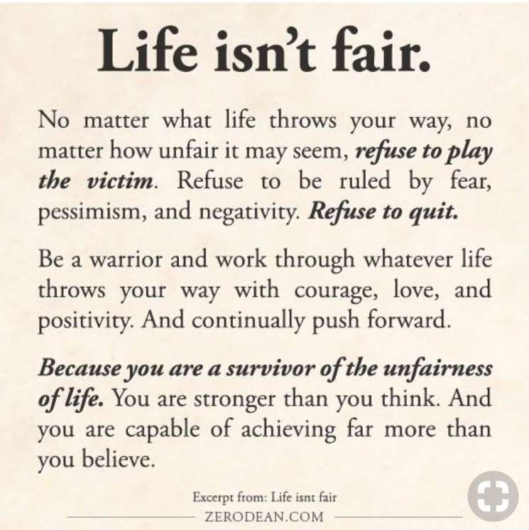 I Really Don T Think It S Unfair Of Me To Expect It To Be My Turn Now Unfair Life Quotes Deserve Better Quotes Unfair Quotes