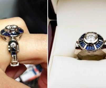 r2d2 wedding ring Le Art Pinterest Wedding bells