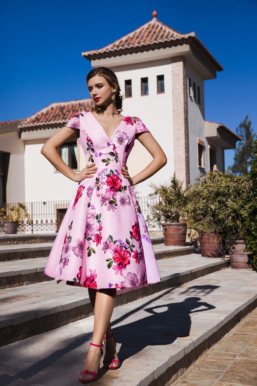 Celeste | Só floridos | Pinterest | Vestidos para ocasiones ...