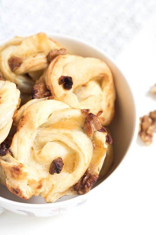 Quick`n`Bake: Blätterteigknäuel mit Apfel - Törtchen - Made in Berlin