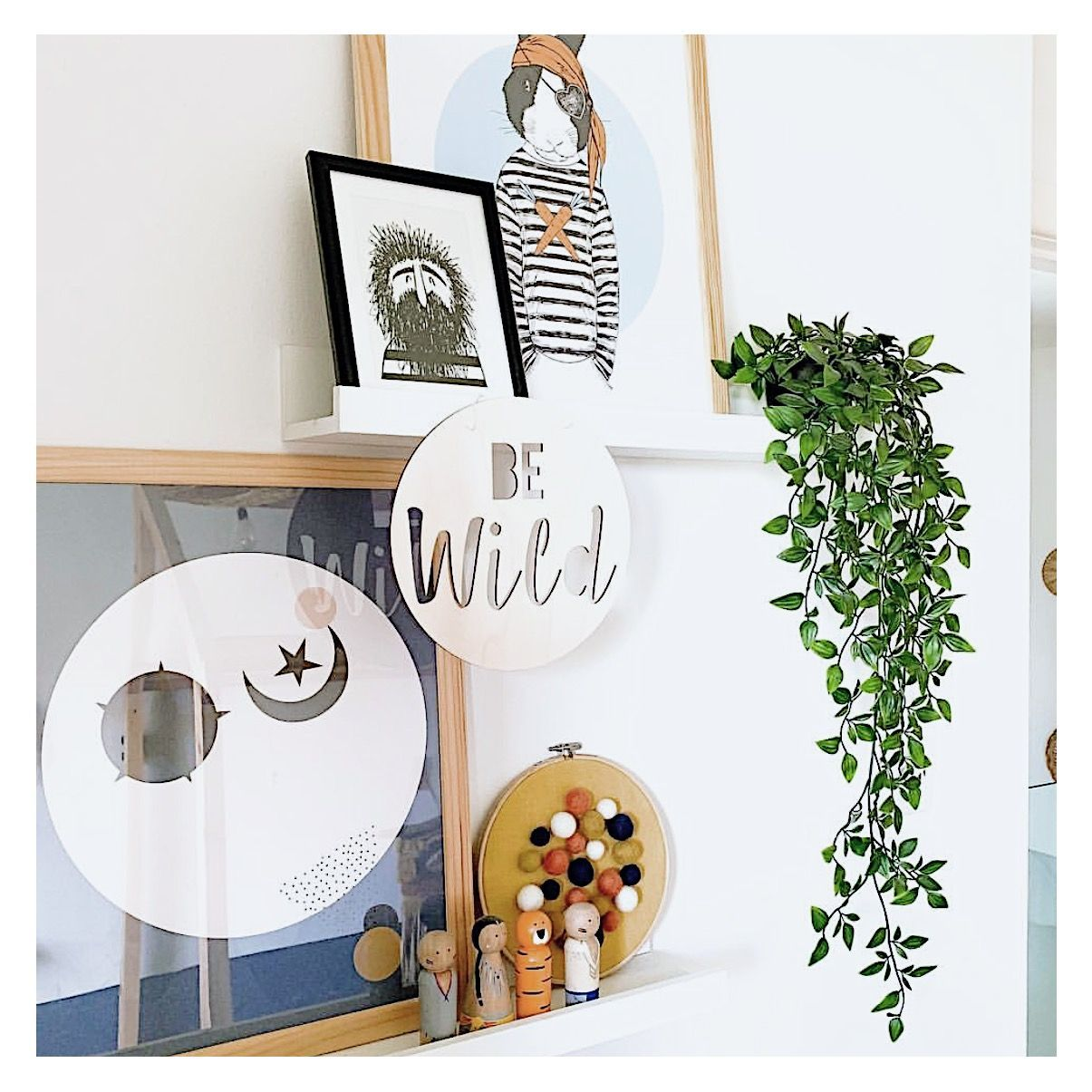 Be Wild Wooden Sign Neutral Nursery Decor Wooden Signs