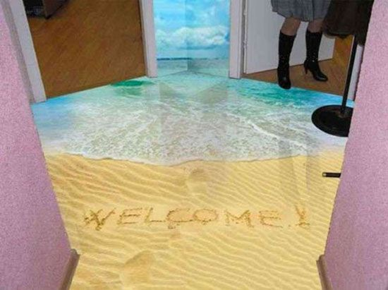 Fabulous 3d Floor Decor Ideas 10 Self Leveling Floor Designs