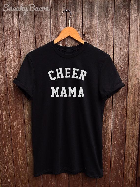 86f14e46 Cheer Mama tshirt - Cheer mom shirt, cheerleader tee, fan t shirt, gifts  for mom, womens cheer shirt